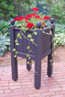 Raised Planter Box black