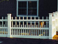 Picket Fence Newport Design