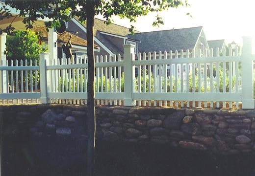 Main Line Picket Fence