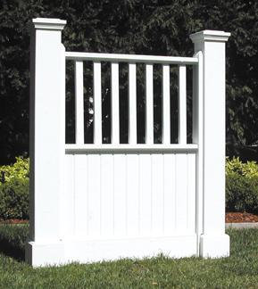 Lake Forest Picket Fence